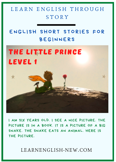 The Little Prince-English short stories for beginners