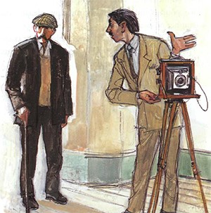 short story in english -  The photographer