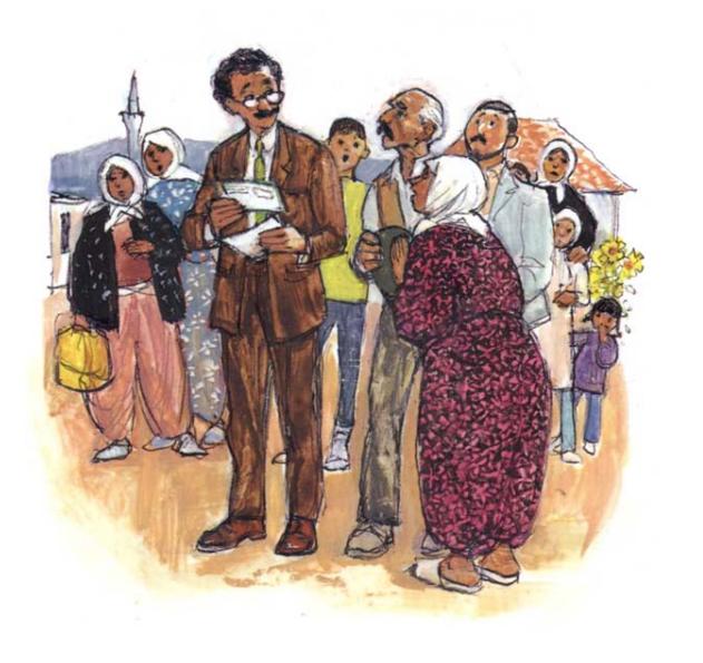 short story in english - the school teacher